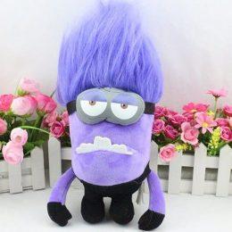 Игрушка злой фиолетовый миньон