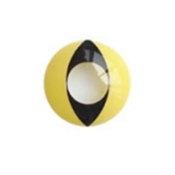 Линзы Кошачий глаз желтые F-26