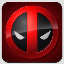Магнит виниловый Deadpool. Дэдпул