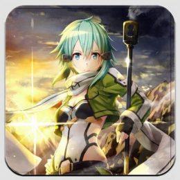 Магнит по аниме Sword Art Online 13