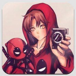 Магнит Deadpool. Дэдпул 2