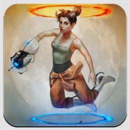 Магнит по игре Portal 3