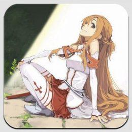 Магнит по аниме Sword Art Online 14