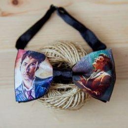 Галстук-бабочка Doctor Who