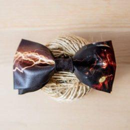 Галстук-бабочка Flash DC