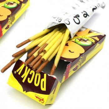 Палочки Pocky в шоколаде со вкусом банана, 25 г.