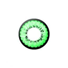 Линзы двухтоновые зеленые 203Green