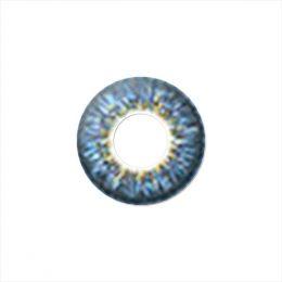 Линзы четырехтоновые голубые