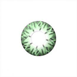 Линзы двухтоновые зеленые CrystalGreen