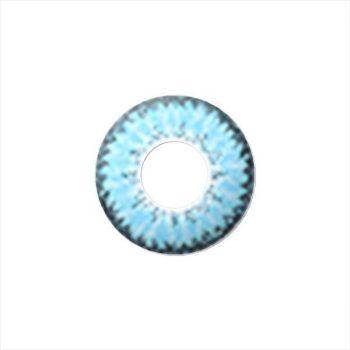 Линзы трехтоновые голубые FayBlue