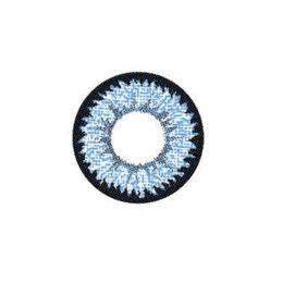 Линзы двухтоновые голубые 207Blue