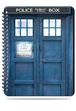 Тетрадь. Doctor Who. Доктор Кто