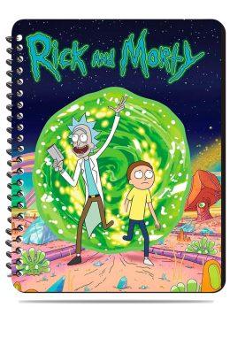 Тетрадь. Rick and Morty. Рик и Морти