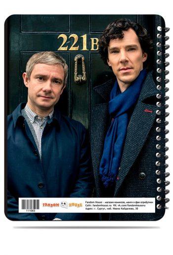 Тетрадь. Sherlock Holmes. Шерлок Холмс