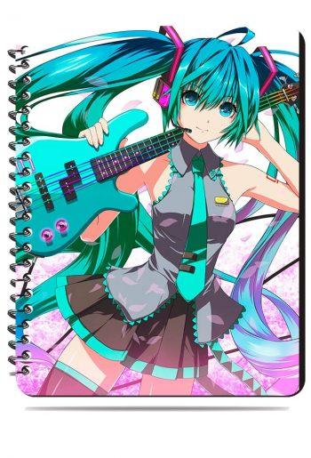 Тетрадь. Vocaloid. Мику Хатсуне