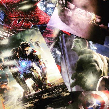 Новое большое поступление плакатов по супер героям, аниме и k-pop!