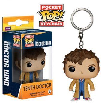 Брелок Funko POP. 10th Doctor из сериала Doctor Who