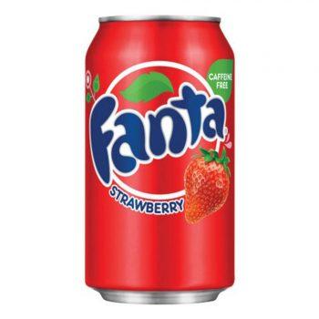 Fanta Strawberry. Клубника