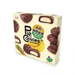 Моти печенье со вкусом банана и шоколада, 160 г.
