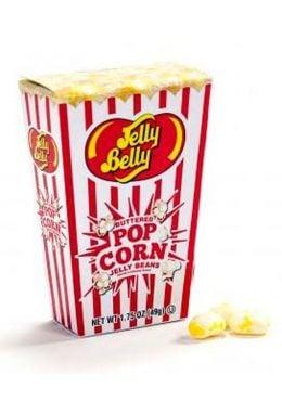 Конфеты Buttered Popcorn Jelly Beans Box 50 гр
