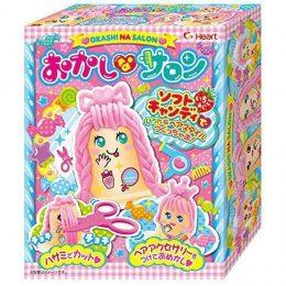 """Игрушка """"Сделай сам"""" Парикмахерская с жевательной конфетой, Япония. 69 г."""