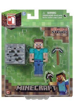 Фигурка Minecraft Steve с аксессуарами
