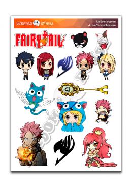 Стикеры Fairy Tail (Fandom House)