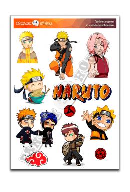 Стикеры Naruto (Fandom House)