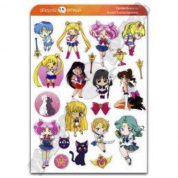 Стикеры Сейлор Мун Sailor Moon (Fandom House)