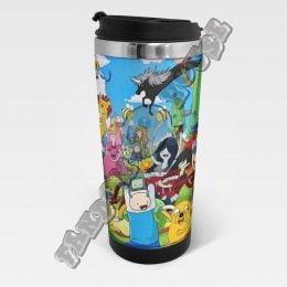 Термостакан Adventure Time 3