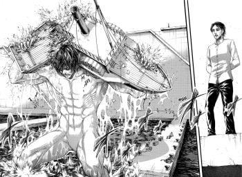 Attack on Titan. Атака на титанов. Том 11