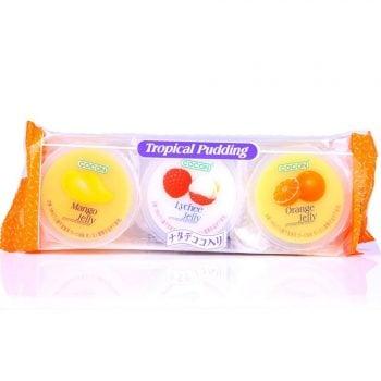 Пудинг фруктовый Ассорти: манго, личи, медовая дыня