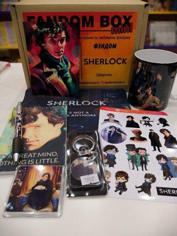 FANDOM BOX - Sherlock (Шерлок)