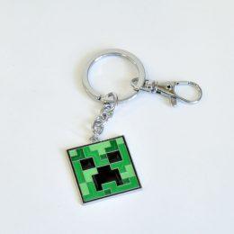 Брелок Minecraft. Крипер