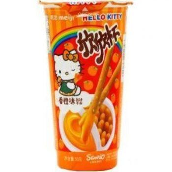 Палочки Yan-Yan Hello Kitty с апельсиновым джемом, 50г