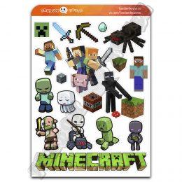 Стикеры Майнкрафт Minecraft (Fandom House)