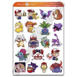 Стикеры Покемоны Pokemon (Fandom House)