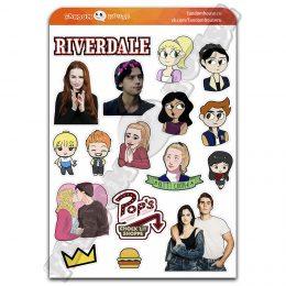 Стикеры Ривердейл Riverdale (Fandom House)