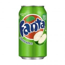 Fanta Green Apple. Зеленое  яблоко