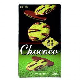 Шоколадный бисквит с зеленым чаем Матча Chococo Lotte 98,6 г