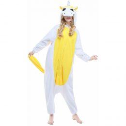 Пижама Кигуруми - Желтый Единорог