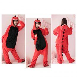 Пижама Кигуруми - Дракон Красный