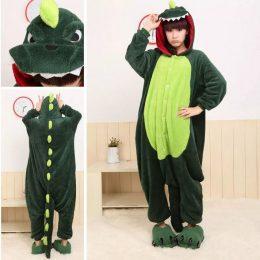 Пижама Кигуруми - Дракон Зеленый