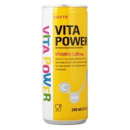 Витаминизированный напиток Vita Power Lotte, 240 мл