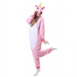 Пижама Кигуруми - Розовый Единорог 2