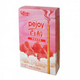 Палочки Pejoy (Pocky) со вкусом клубники и сливок, 48 г