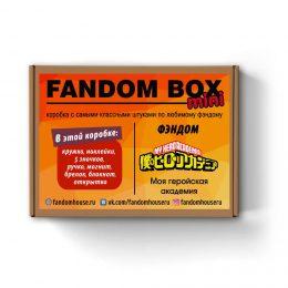 FANDOM BOX mini - My Hero Academia (Моя геройская академия)